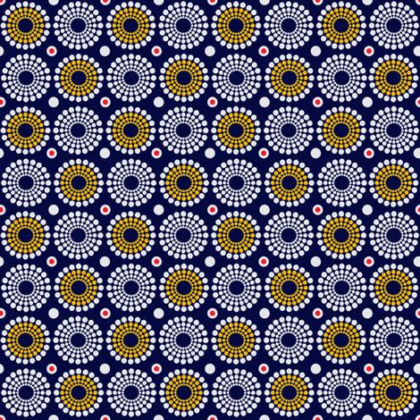 African circles fabric by jojo_digital_store on Spoonflower - custom fabric