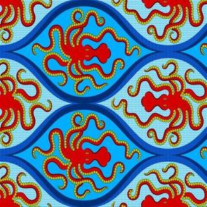 Minoan Octopus scarf