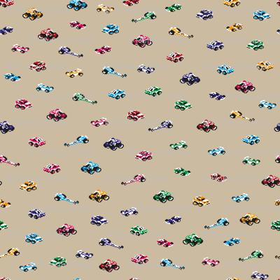 Pixel Art Race Cars for Kids