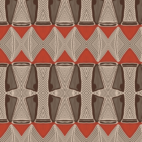 Ornamentic #1 fabric by susiprint on Spoonflower - custom fabric