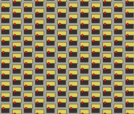 red dot  fabric by luluhoo on Spoonflower - custom fabric