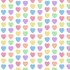 sweet hearts candy