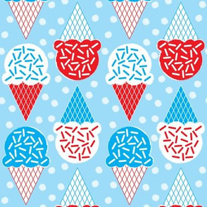 ice-cream-cones-with-sprinkles-red-white-_-blue