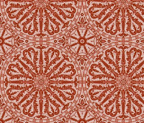 Catherine Wheel 3b fabric by muhlenkott on Spoonflower - custom fabric