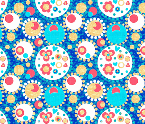 Round & Round fabric by franbail on Spoonflower - custom fabric