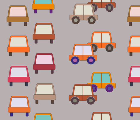 Cars fabric by anna_lg on Spoonflower - custom fabric