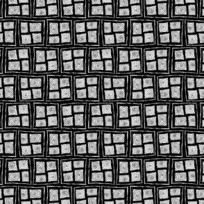 Spiral Windows in the Dark