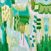 Abstract Blue Lagoon 2