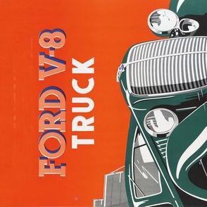 Ford V-8 Truck Poster -27x18