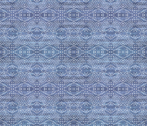 DENIM LIGHT LIGHT BOHO INDIGO fabric by holli_zollinger on Spoonflower - custom fabric