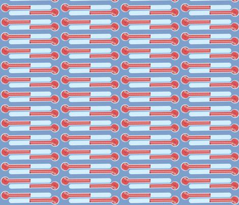 Dr. Therm-wallpaper border horizontal fabric by kae50 on Spoonflower - custom fabric