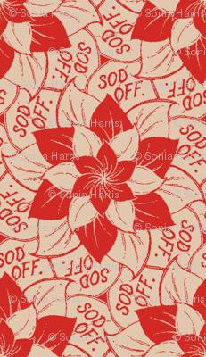 Sod Off - flowers