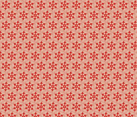 Sod Off - flowers fabric by secretbean on Spoonflower - custom fabric