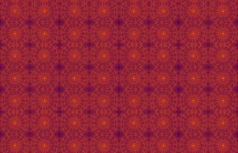 Sunset Mandala fabric by citivacreationz on Spoonflower - custom fabric