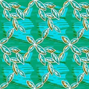 Emerald Serenity-Water,Wind & Foliage
