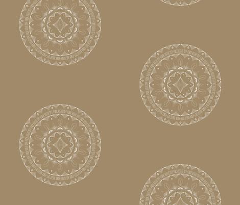 Fuck Right Off - mandala fabric by secretbean on Spoonflower - custom fabric
