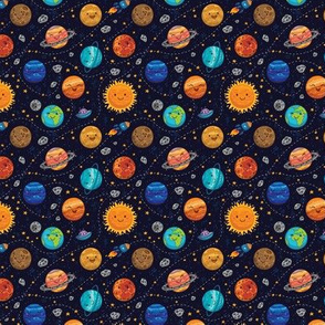 Cute planets_small size