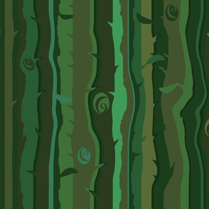 Green Green Evergreens
