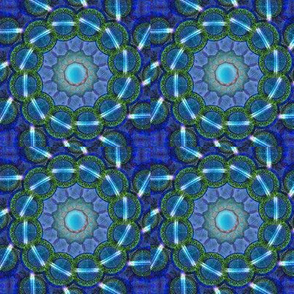 Blue Grass & Neon