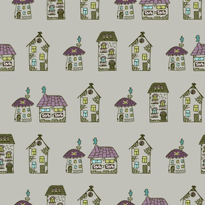 Funny fairy houses
