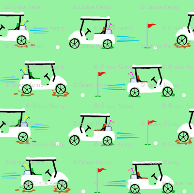 golf carts tile