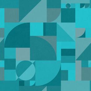 Turquoise Bauhaus