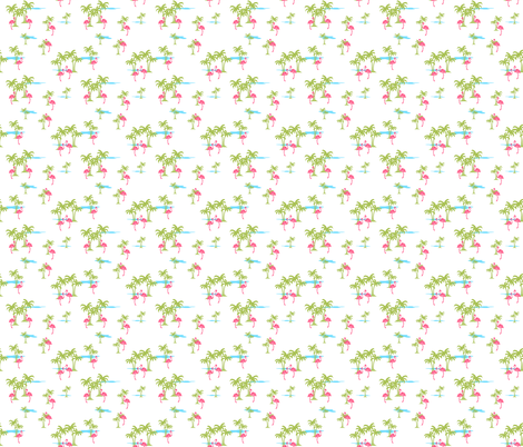 Oasis (Pacific white) fabric by thewallpaperfiles on Spoonflower - custom fabric