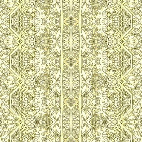 Lacy Doodle Stripe fabric by edsel2084 on Spoonflower - custom fabric