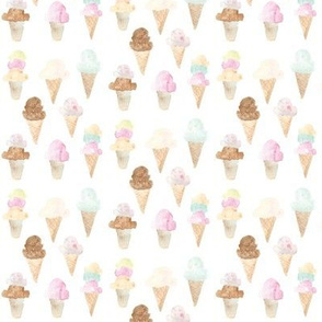 ice cream cones mini