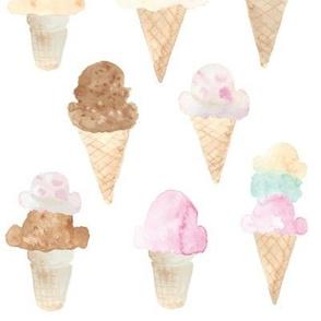 ice cream cones large