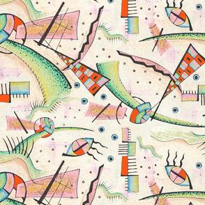 Abstract Bauhaus artists inspiration