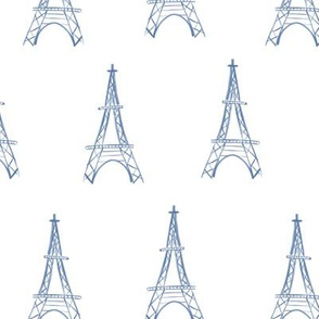 Eiffel Towers in a Row