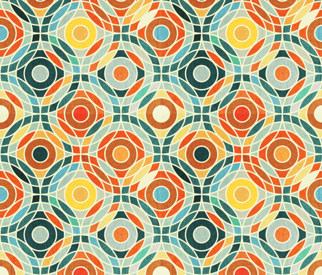 Bauhaus Geometric  fabric by camcreative on Spoonflower - custom fabric