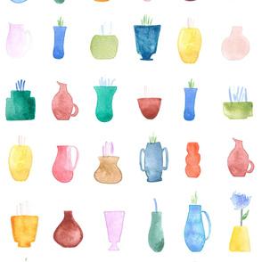 bohemian vases