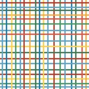 Rolling Robots companion grid multicolor