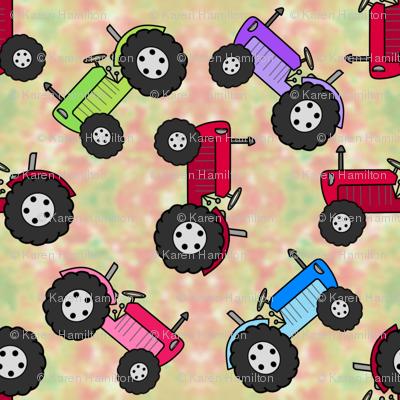 Tractor Parade Grass