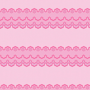 Princess Border Pink