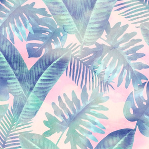 Watercolor - Tropical