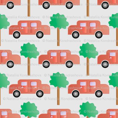 Cartoon cars