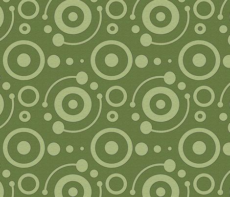 crop circles 8x8 fabric by leroyj on Spoonflower - custom fabric