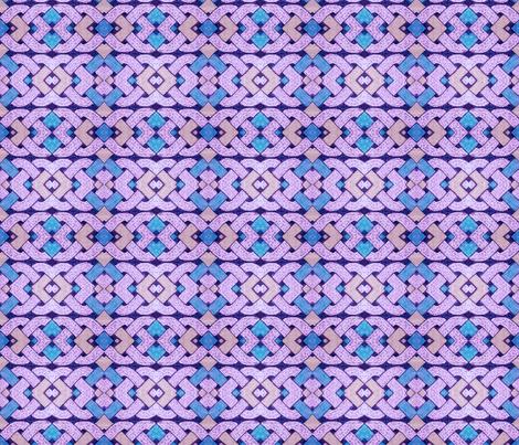 Celtic ornament 02 fabric by tashakon on Spoonflower - custom fabric