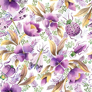 violet garden pattern
