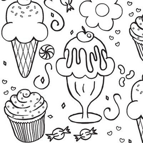 The 4 C's / Cookies, Cupcakes, Candy & Cones