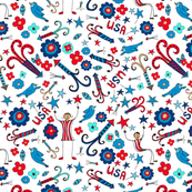 Firecrackers, Flowers and Stars, small