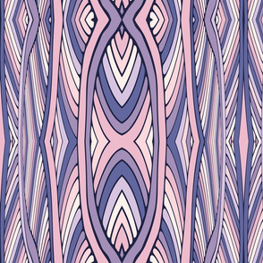 Tribal seamless pattern with stripes