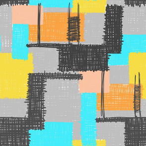 Inky Scribbles Multi