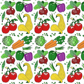 Eat your veggies repeat small color