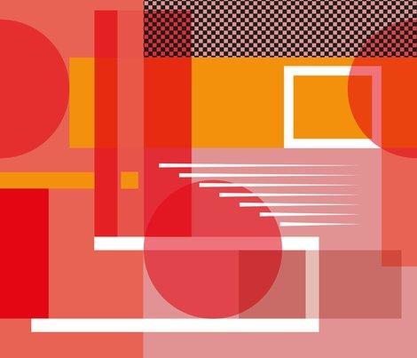Bauhaus movement fabric chawandesign spoonflower for Bauhaus design shop