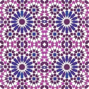 Moorish Moroccan Indigo Stars