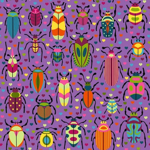 Bright Beautiful Beetles